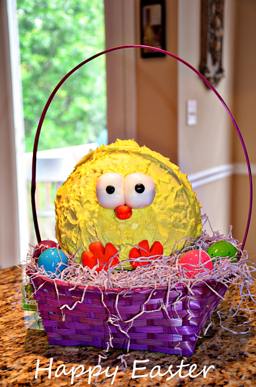 Easter Chick on Cake Central