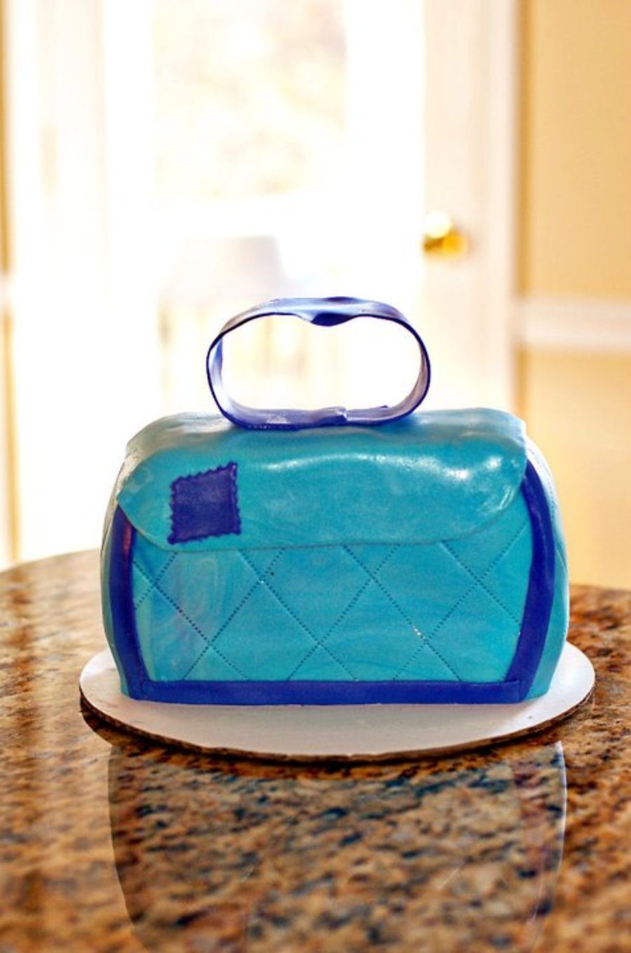 Purse Cake on Cake Central