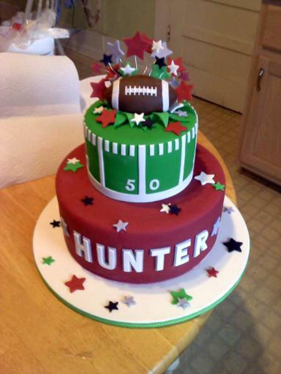 Hunter's Birthday Cake on Cake Central