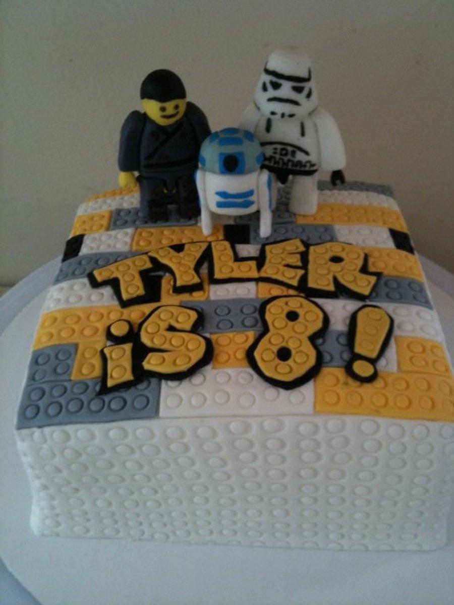 Lego Star Wars Birthday Cake Cakecentral