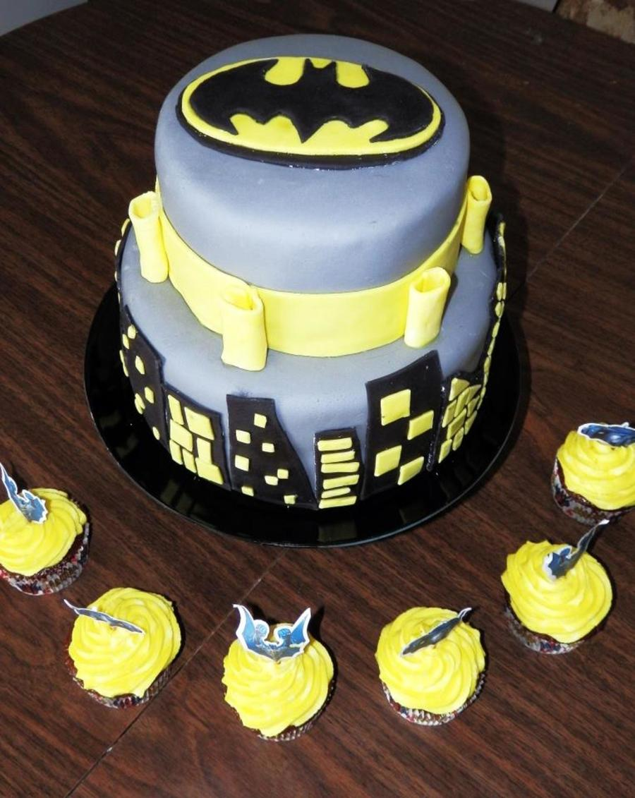 Batman Birthday Cake Cakecentral Com