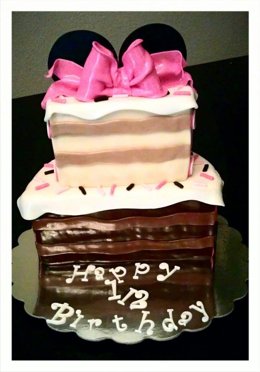 1/2 Birthday Cake - CakeCentral.com