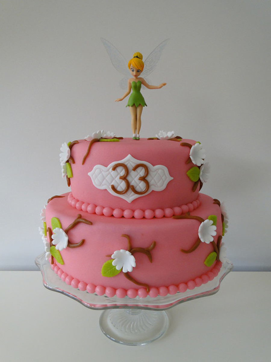 Tinkerbell Cake For My 33Rd Birthday On Central
