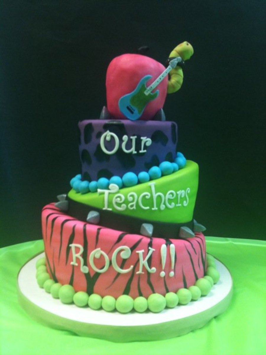 Teacher Appreciation on Cake Central