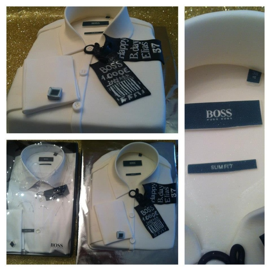 Hugo-Boss Shirt Cake on Cake Central