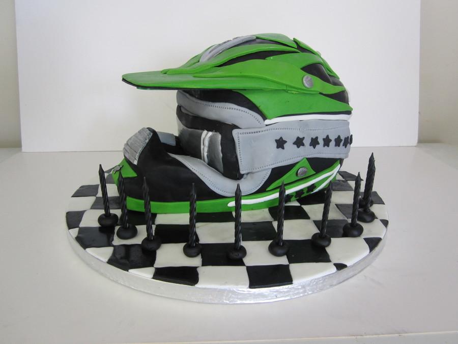 Moto X Helmet Cakecentral