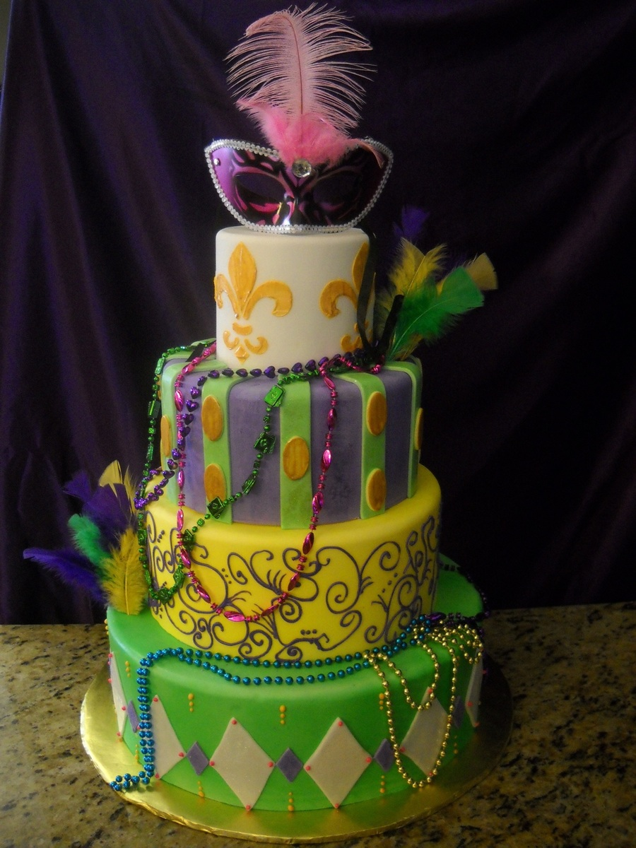 Mardi Gras cake decorations, king cake babies, cupcake toppers, food picks and cookie cutters.