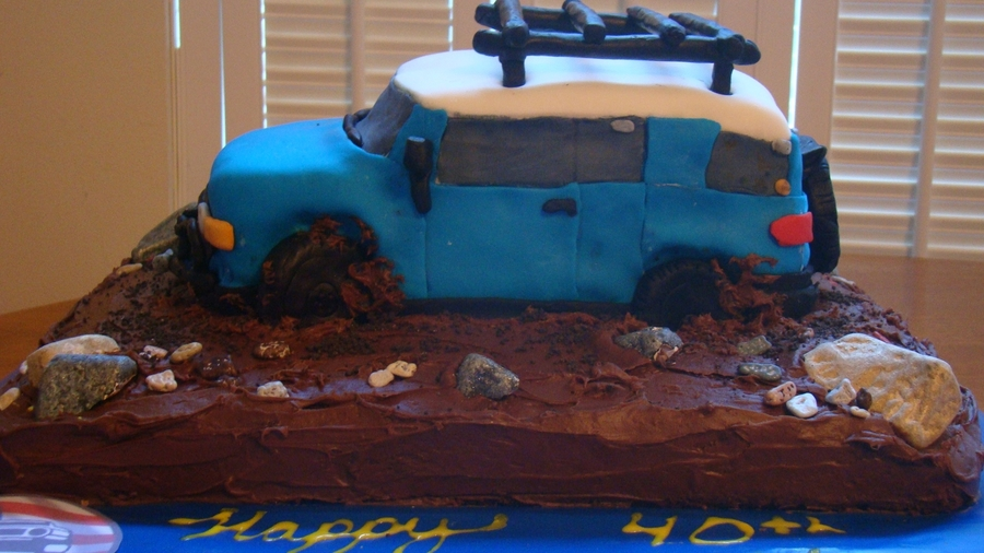 Fj Cruiser Cake on Cake Central