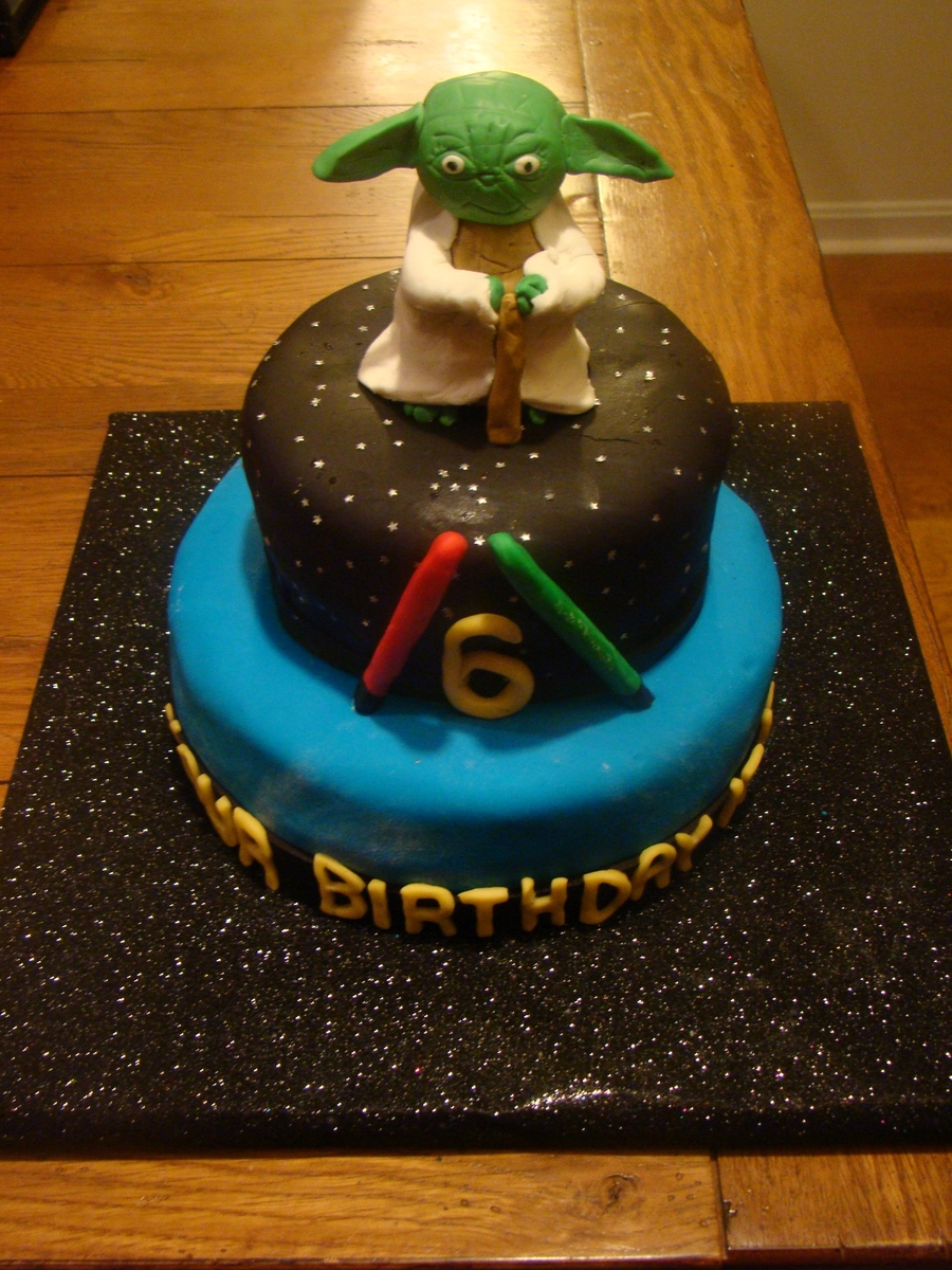 Yoda Birthday Cake Cakecentral