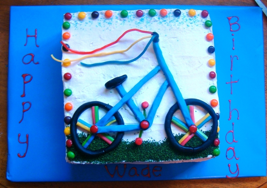 Bike Birthday  on Cake Central