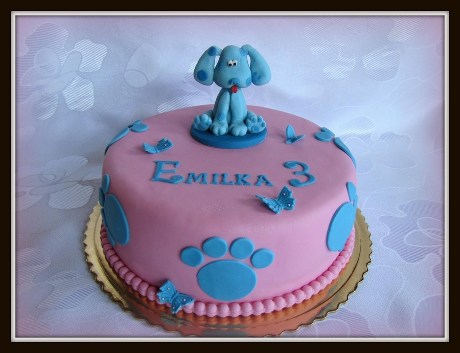 Blue's Clues on Cake Central