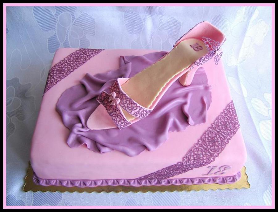 Shoe on Cake Central