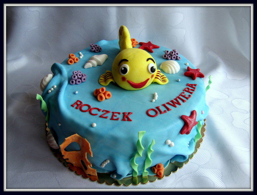 Mini-Mini Little Fish. on Cake Central