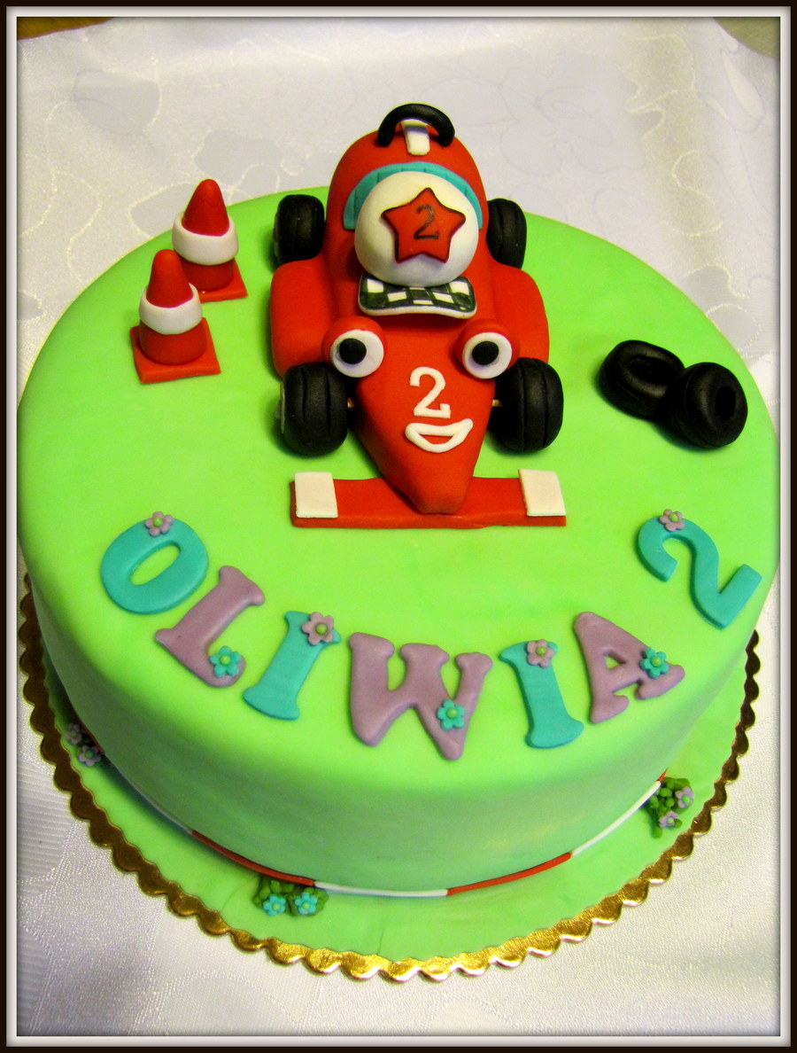 Roary Car on Cake Central