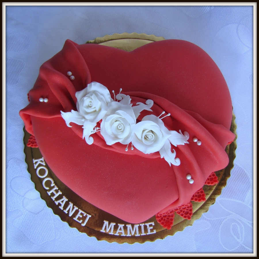 Heart For Mother on Cake Central