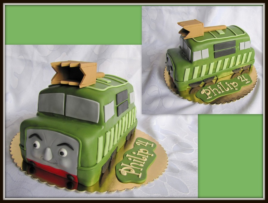 Tank Cake -Thomas And Friends on Cake Central