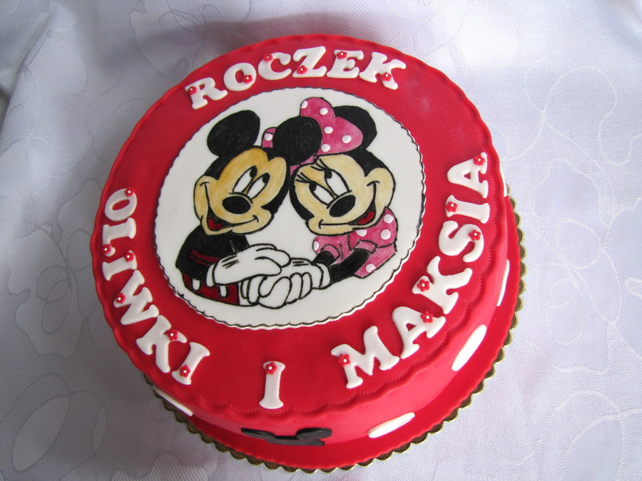 Minnie And Mickey on Cake Central