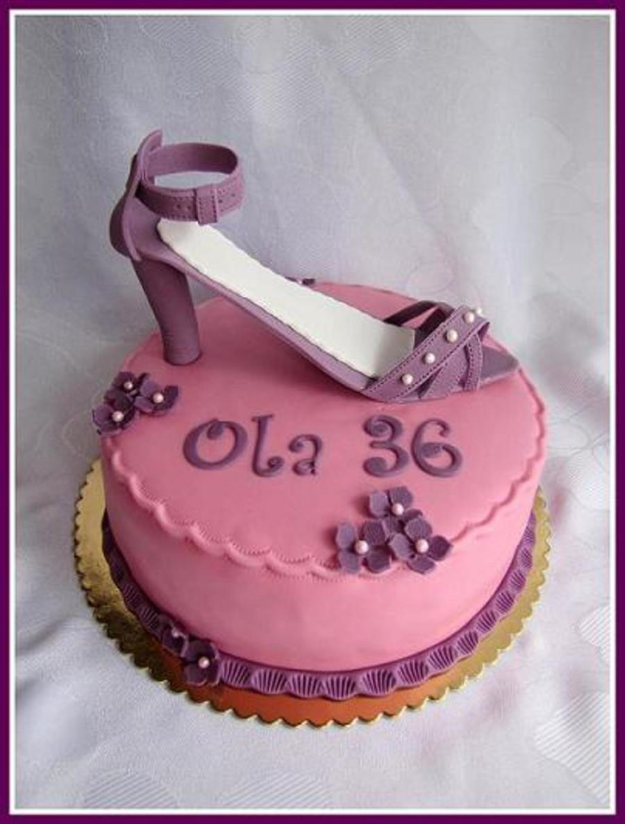 Women's Shoes on Cake Central