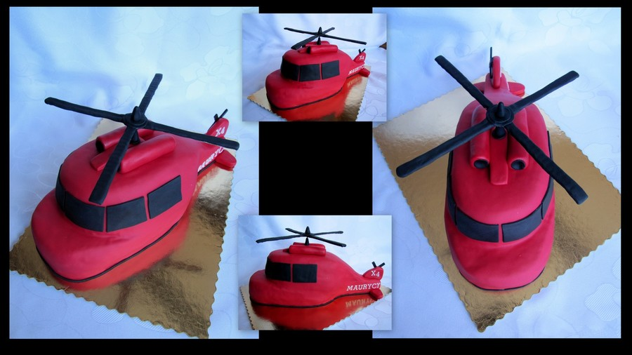 Helikopter . on Cake Central