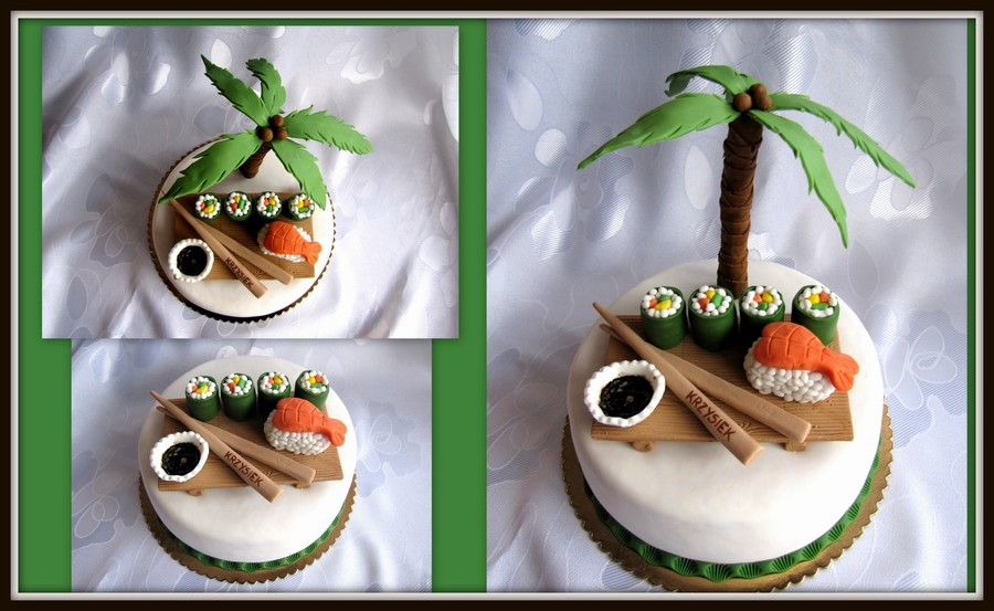Sushi on Cake Central