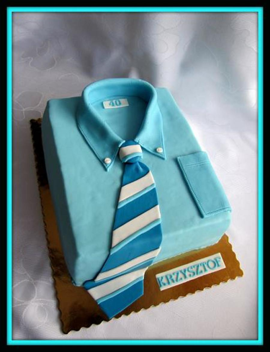 Shirt on Cake Central