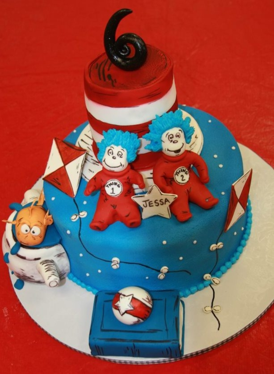 Happy Birthday Dr. Seuss on Cake Central