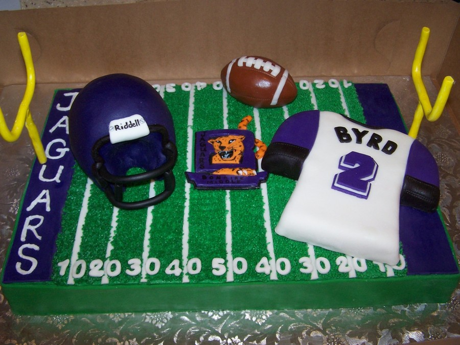 Middle School Football Cake on Cake Central