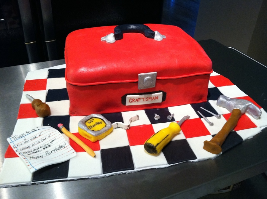 Tool Box on Cake Central