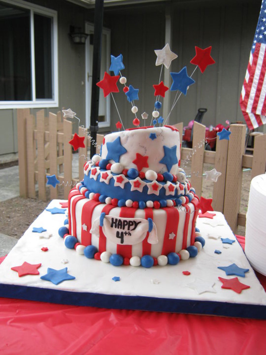 Happy 4Th Of July on Cake Central