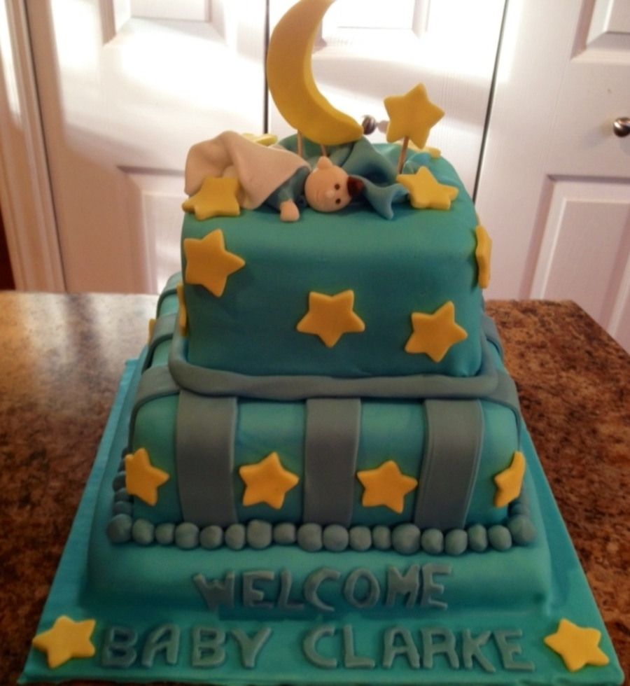 Stars And Moon on Cake Central