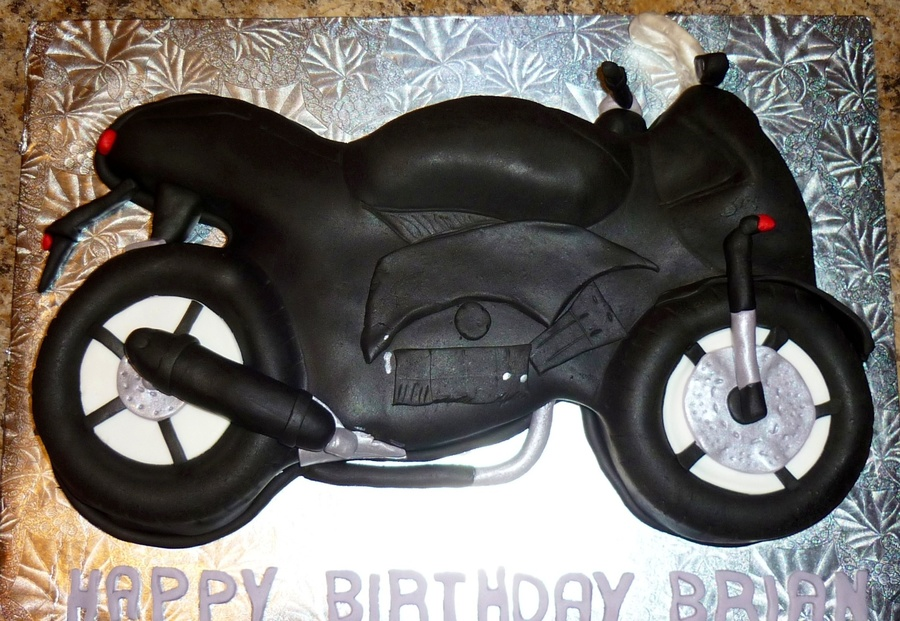 Motorcycle Cake on Cake Central