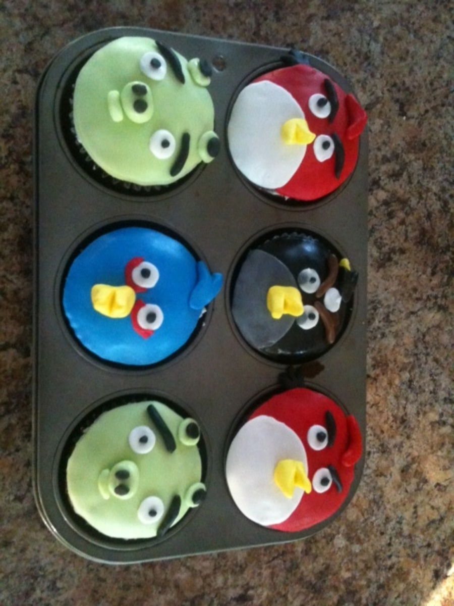 Angry Cupcakes on Cake Central