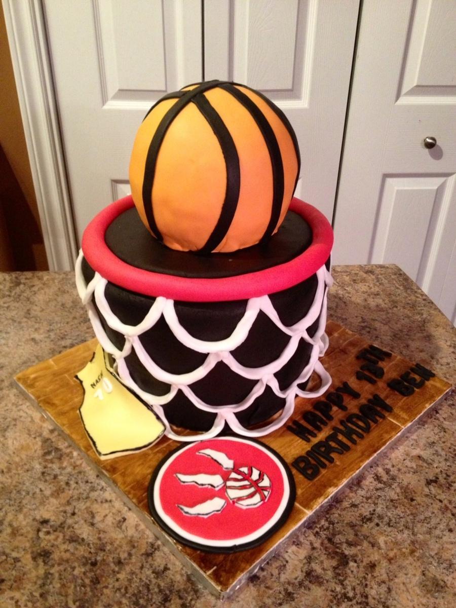 Basketball Net Cake Cakecentral Com