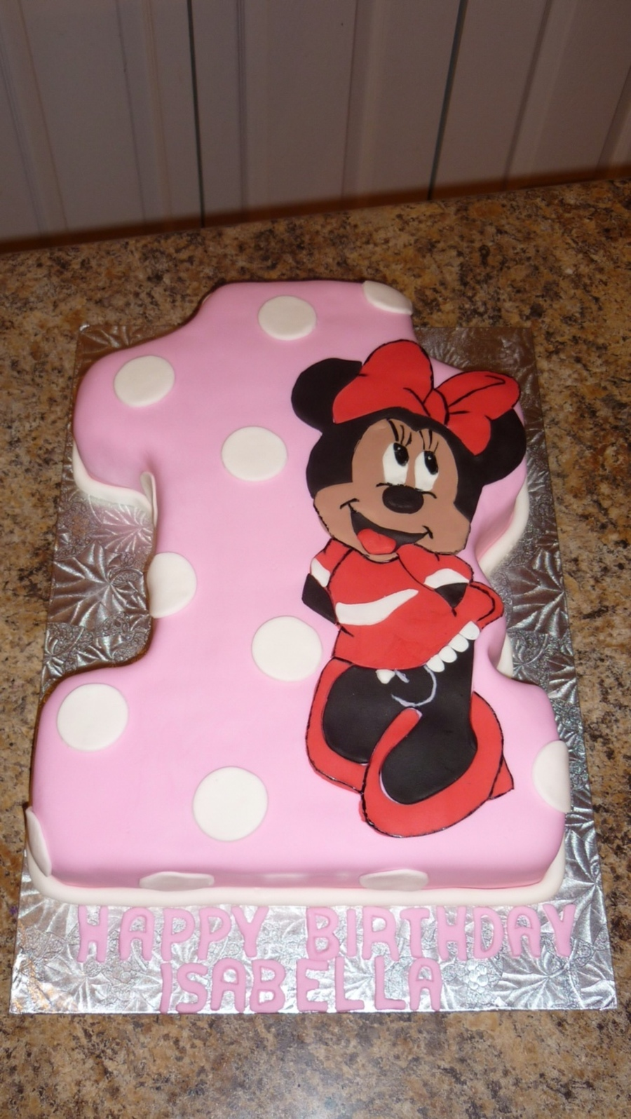 Minnie Mouse First Birthday on Cake Central
