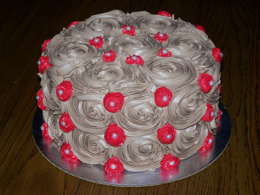 Chocolate Rose on Cake Central