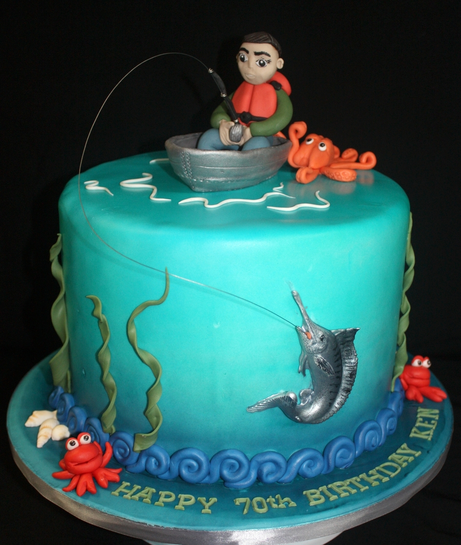 Marlin Fishing Cake CakeCentralcom