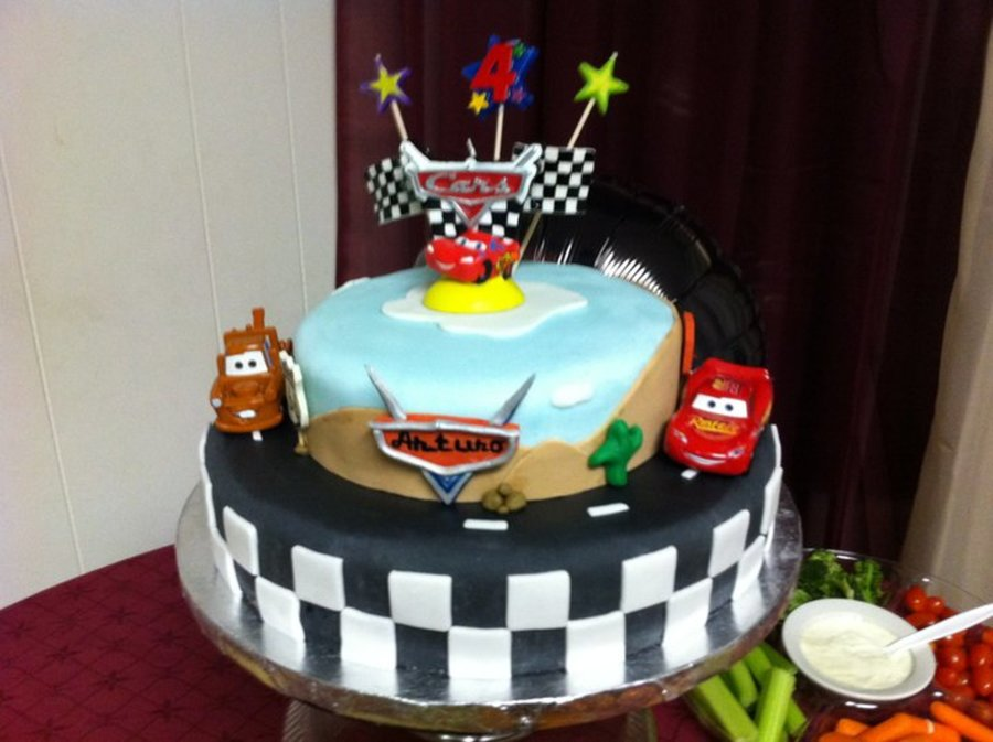 Disney Cars Theme  on Cake Central