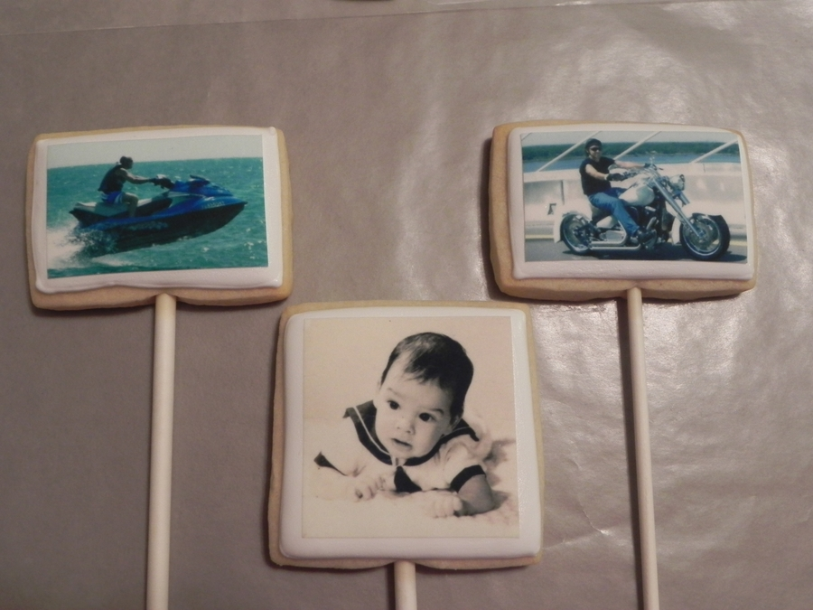 Cookies With Photo Transfer on Cake Central