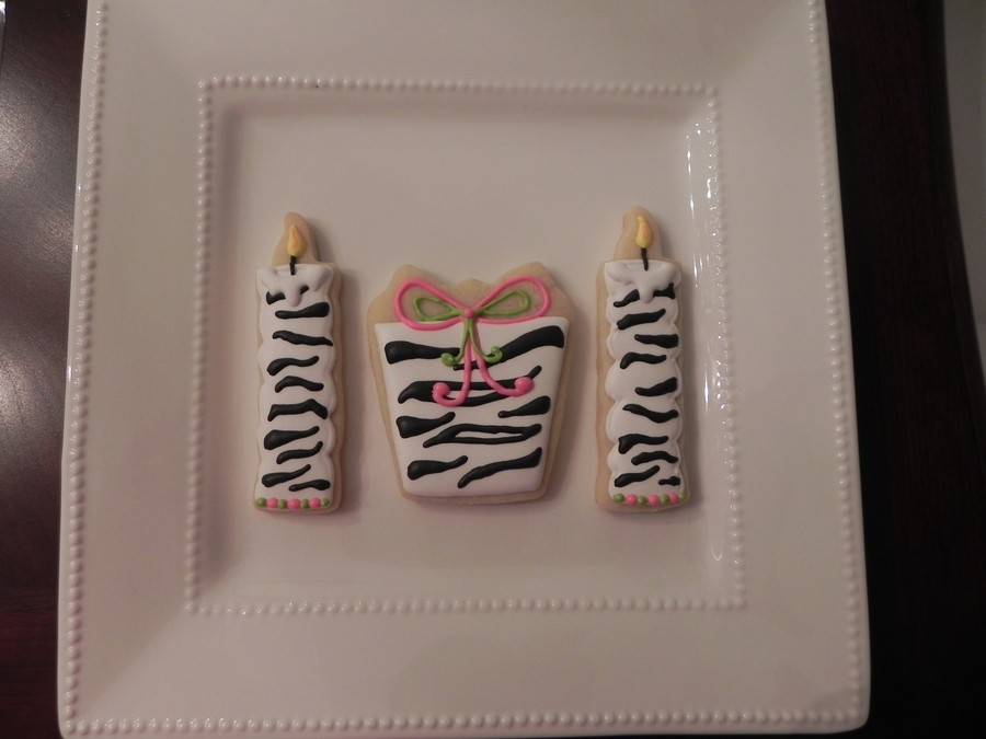 Happy Birthday Zebra Prints on Cake Central