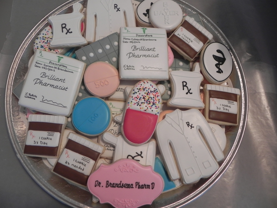 Pharmacist Cookies on Cake Central