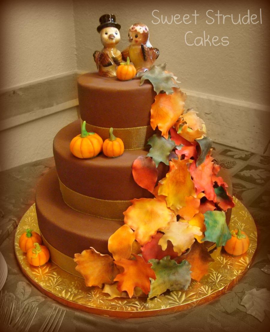 Cakecentral Com: Fall Wedding Cake