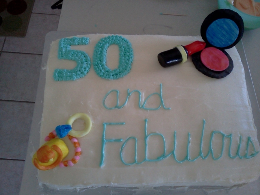 50Th Birthday Cake on Cake Central