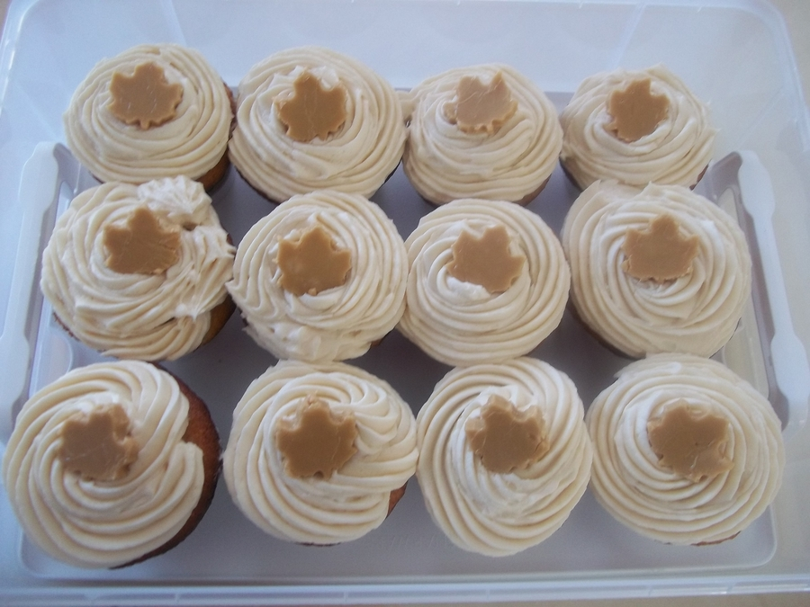 Mapple Cupcakes on Cake Central