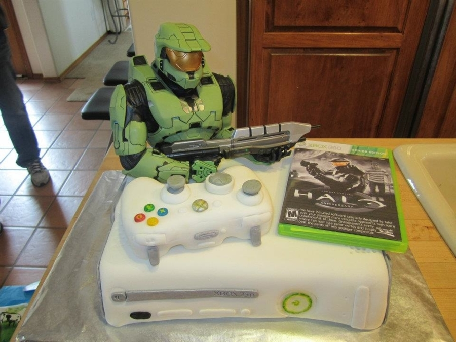 Xbox  Cake Decorations