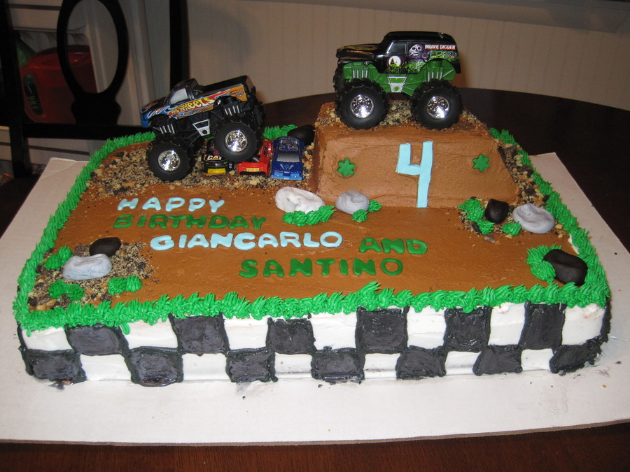 Monster Truck Cake Cakecentral Com