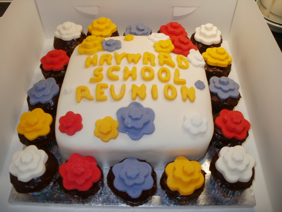School Reunion Cake on Cake Central