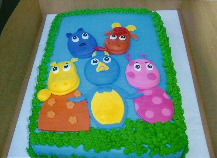 Backyardigans. on Cake Central