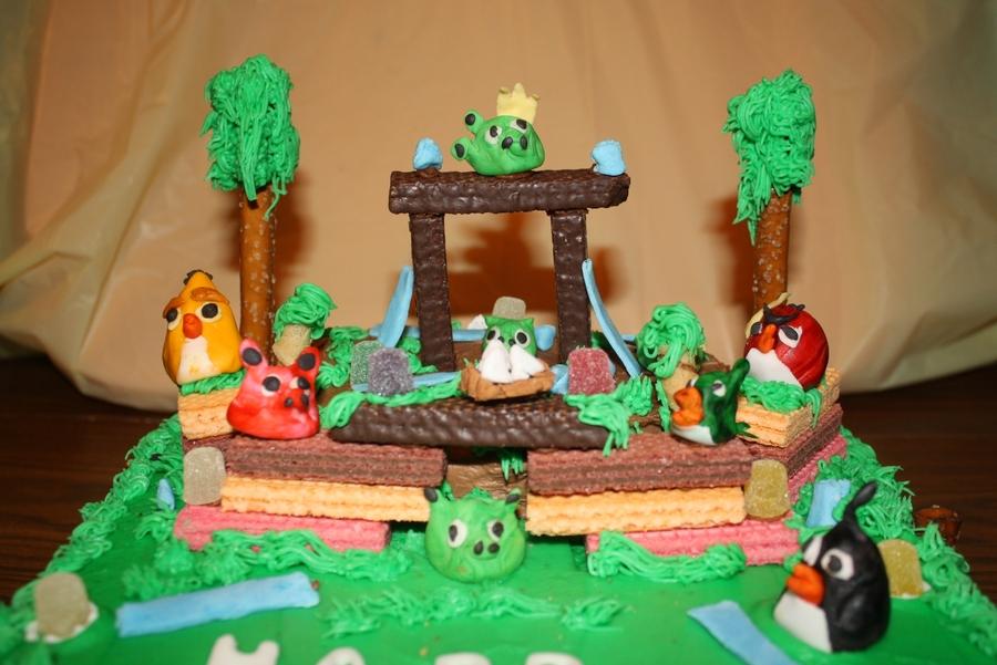 Angry Birds Cake CakeCentralcom