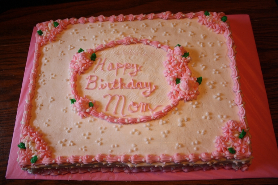 Pleasing Mom Birthday Cake Cakecentral Com Funny Birthday Cards Online Alyptdamsfinfo