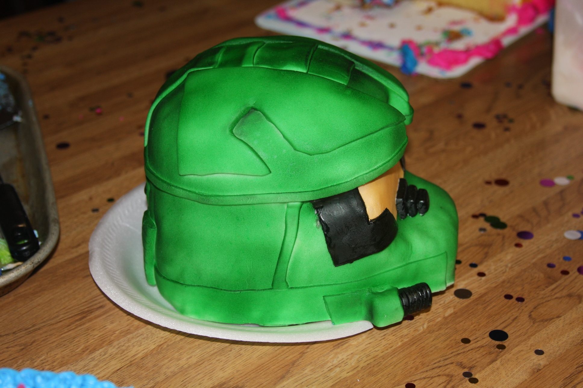Master Chief Halo Cake Cakecentral Com